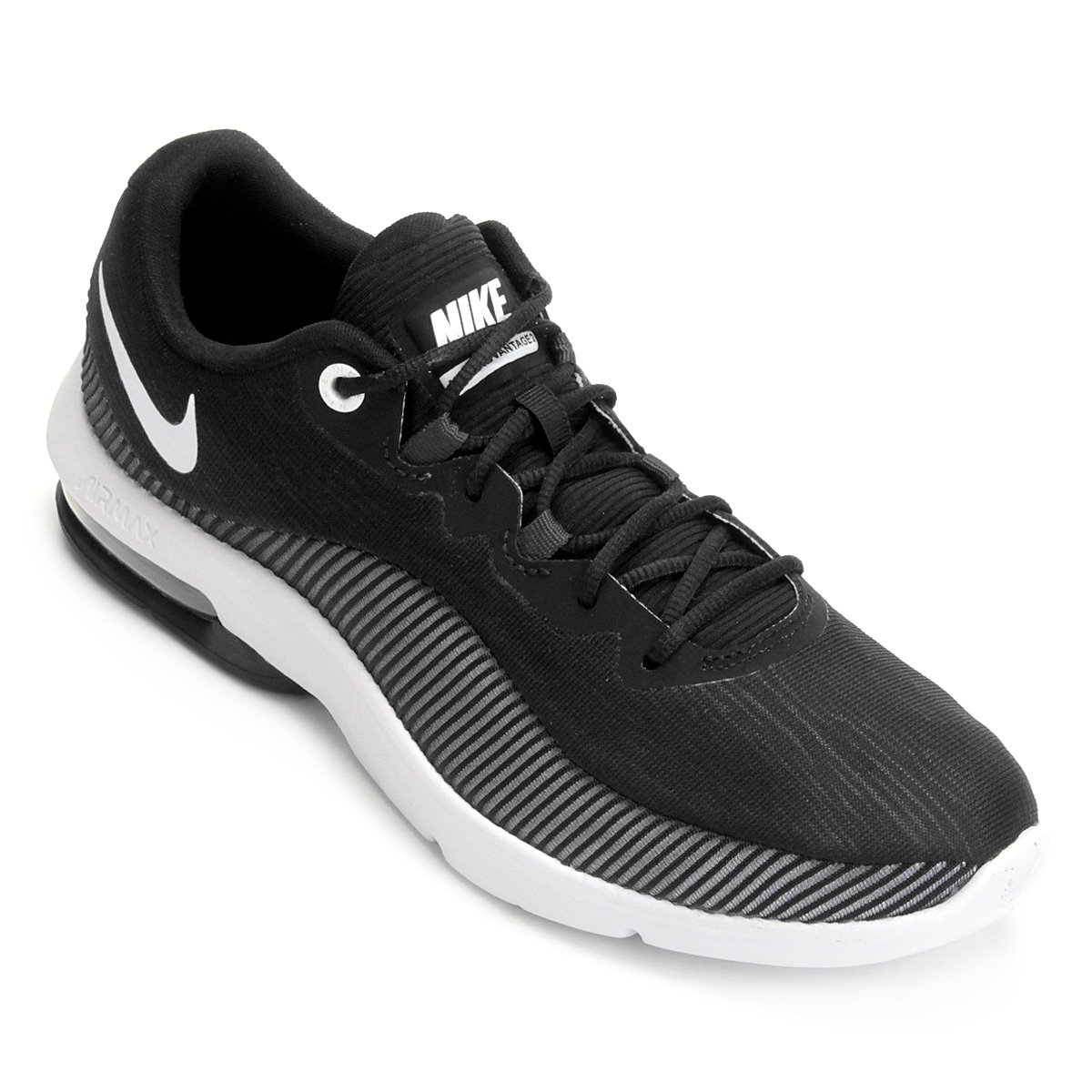 Tênis Nike Air Max Advantage 2 Feminino - Preto e Branco - Compre ... 81eec19aea
