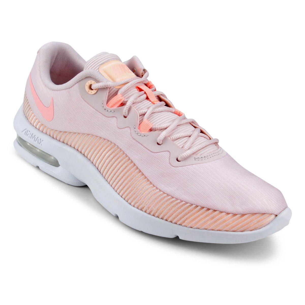 b96d86fb750e0 Tênis Nike Air Max Advantage 2 Feminino - Rosa e Vermelho - Compre Agora