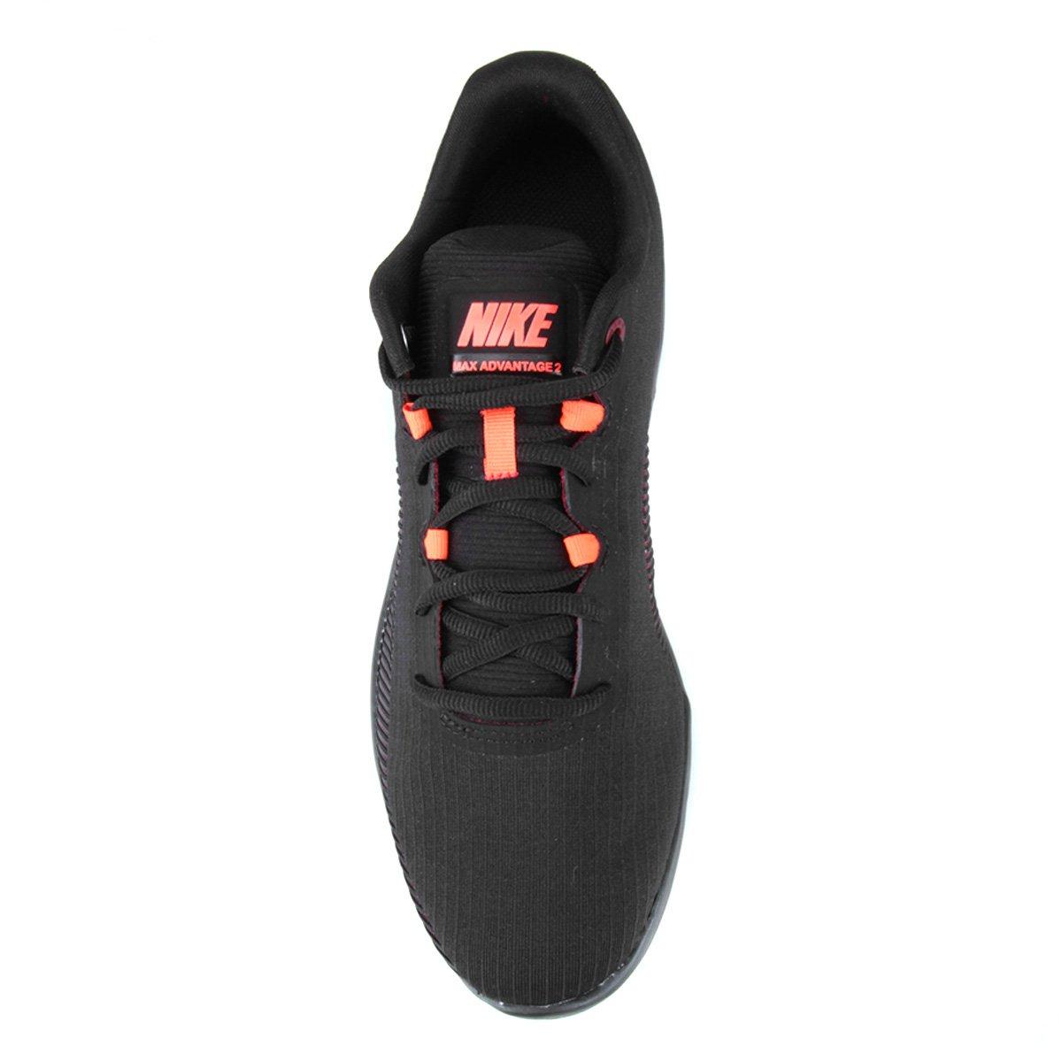 Tênis Nike Air Max Advantage 2 Masculino Preto E Vermelho