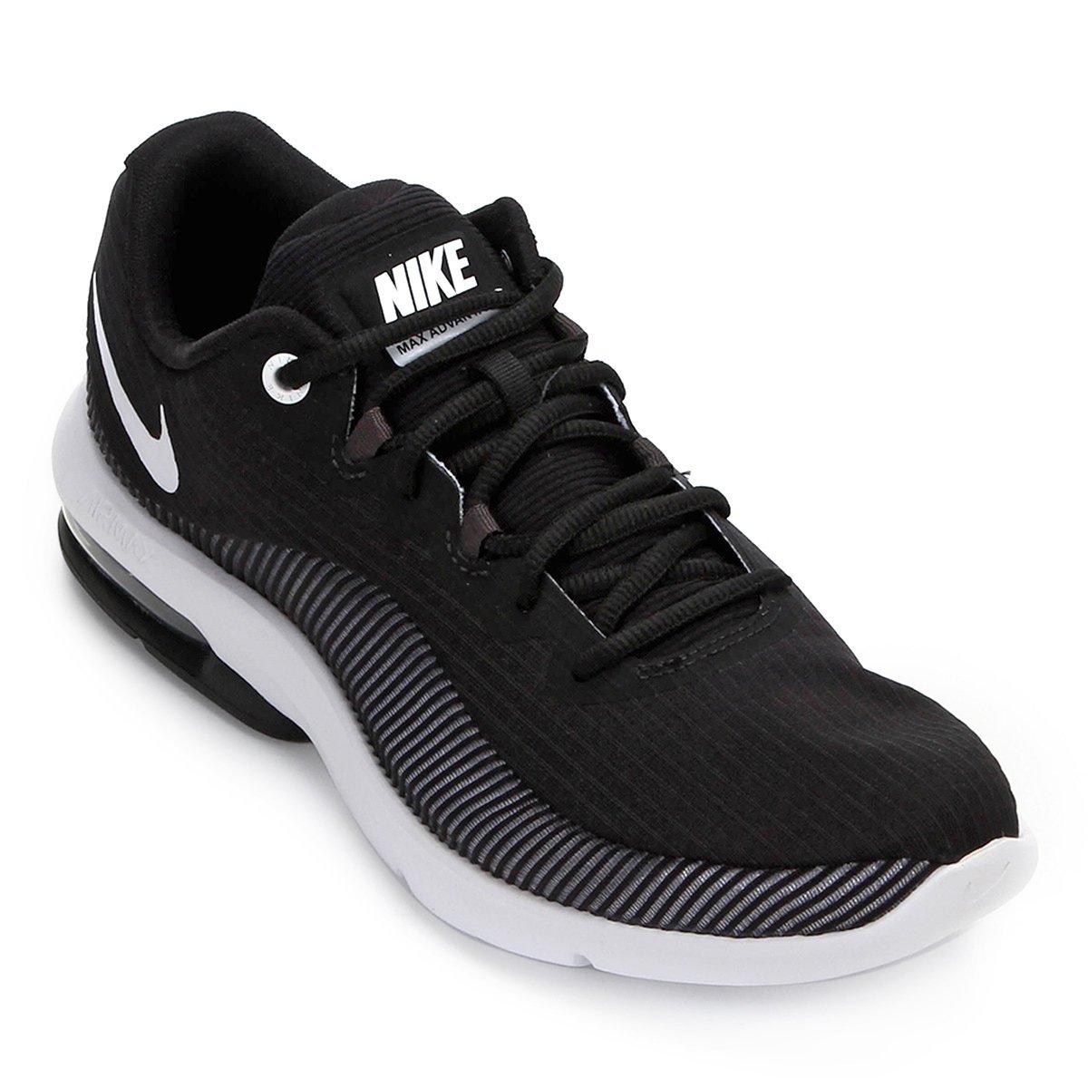 7f3b601fbf3 Tênis Nike Air Max Advantage 2 Masculino - Preto e Branco - Compre Agora