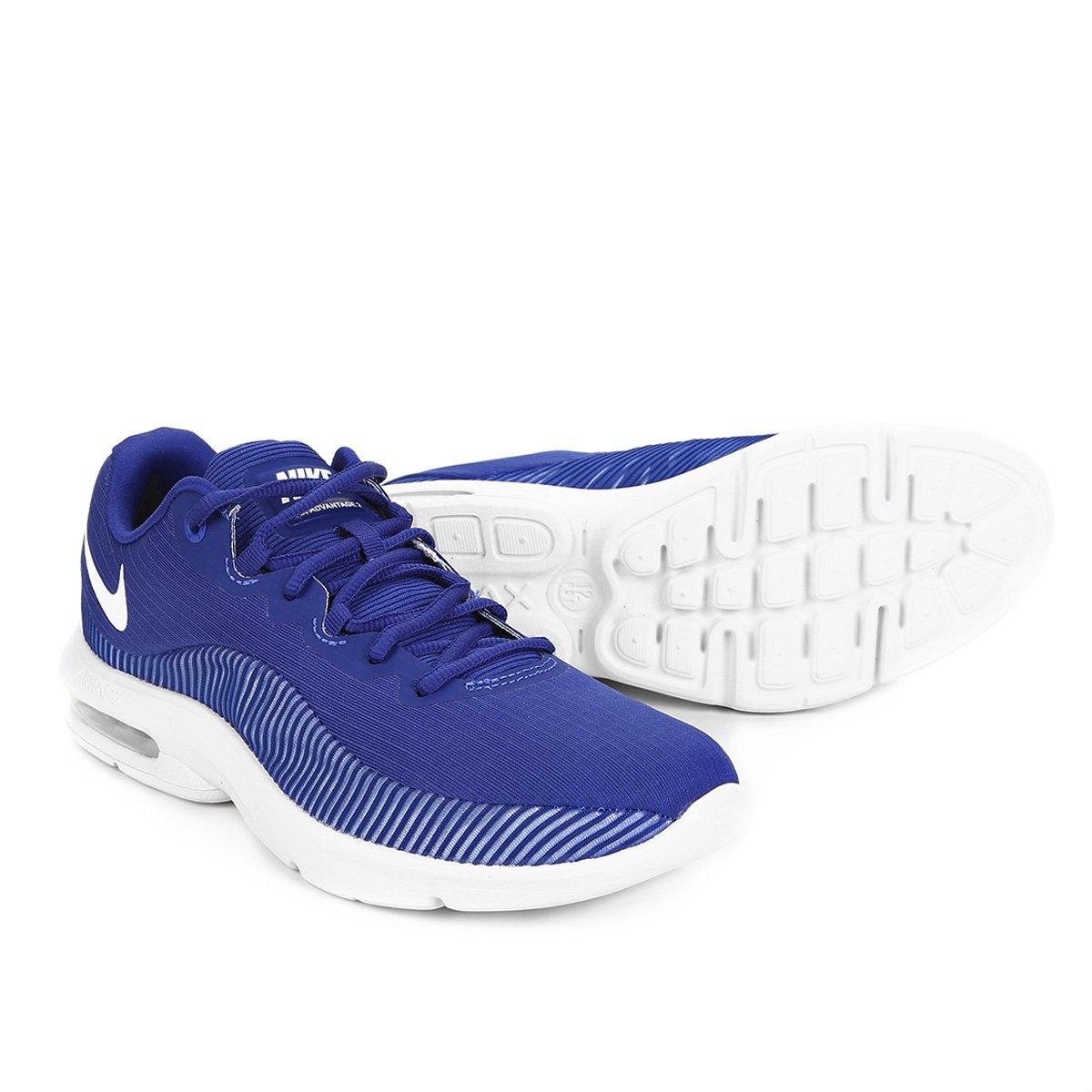 Tênis Nike Air Max Advantage 2 Masculino Azul e Branco