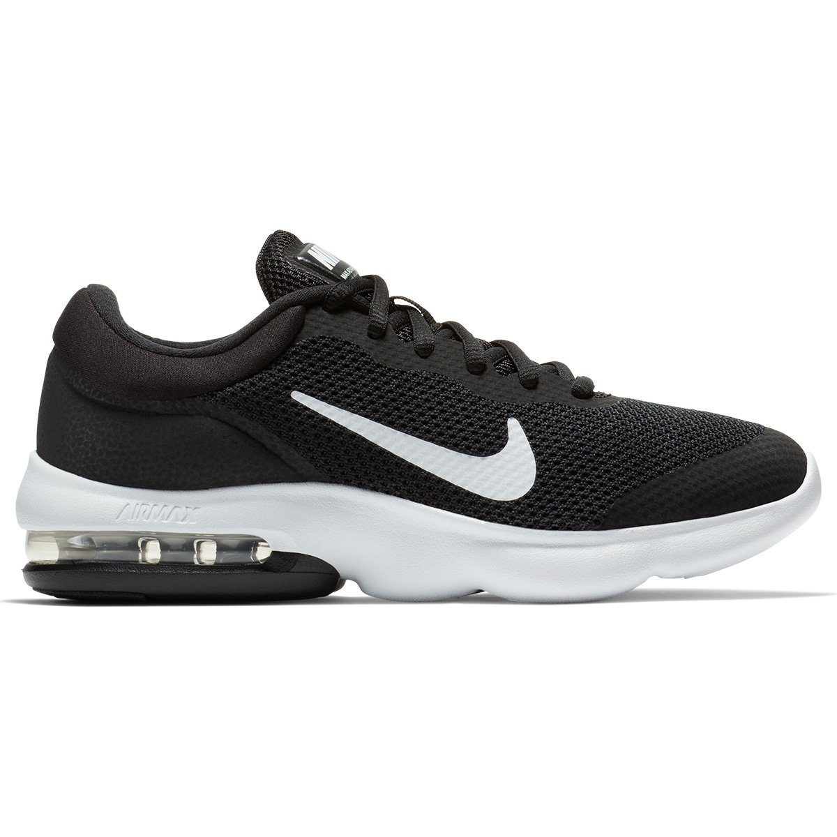Tênis Nike Air Max Advantage Feminino - Preto e Branco - Compre ... 84209493de