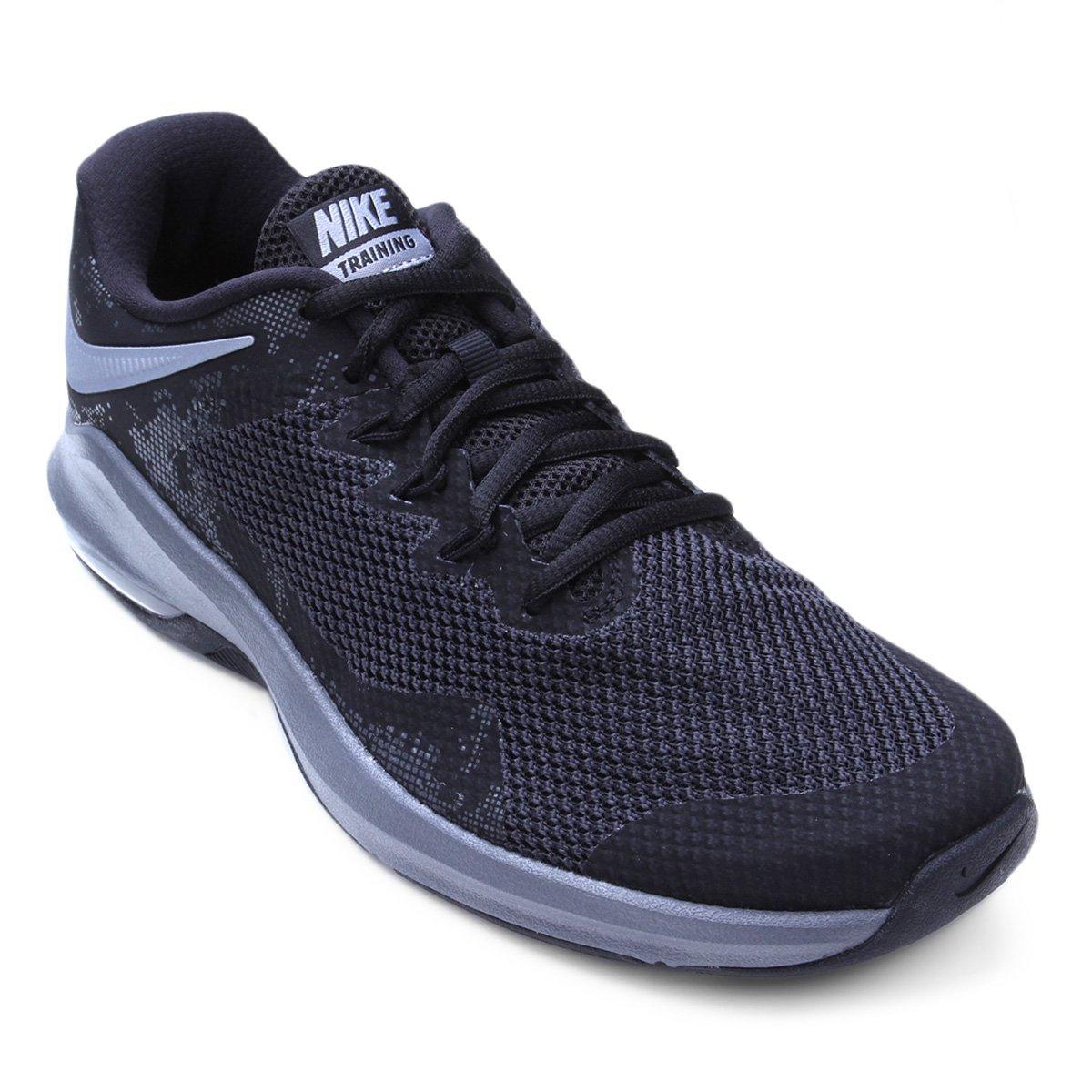 4b6ebe8926 Tênis Nike Air Max Alpha Trainer Masculino - Preto e Cinza | Shop Timão