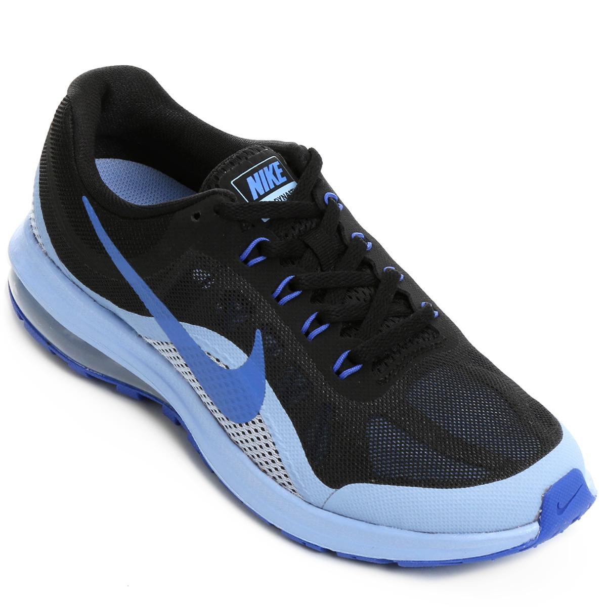 e63c04b079b Tênis Nike Air Max Dynasty 2 Feminino - Preto e Azul - Compre Agora ...
