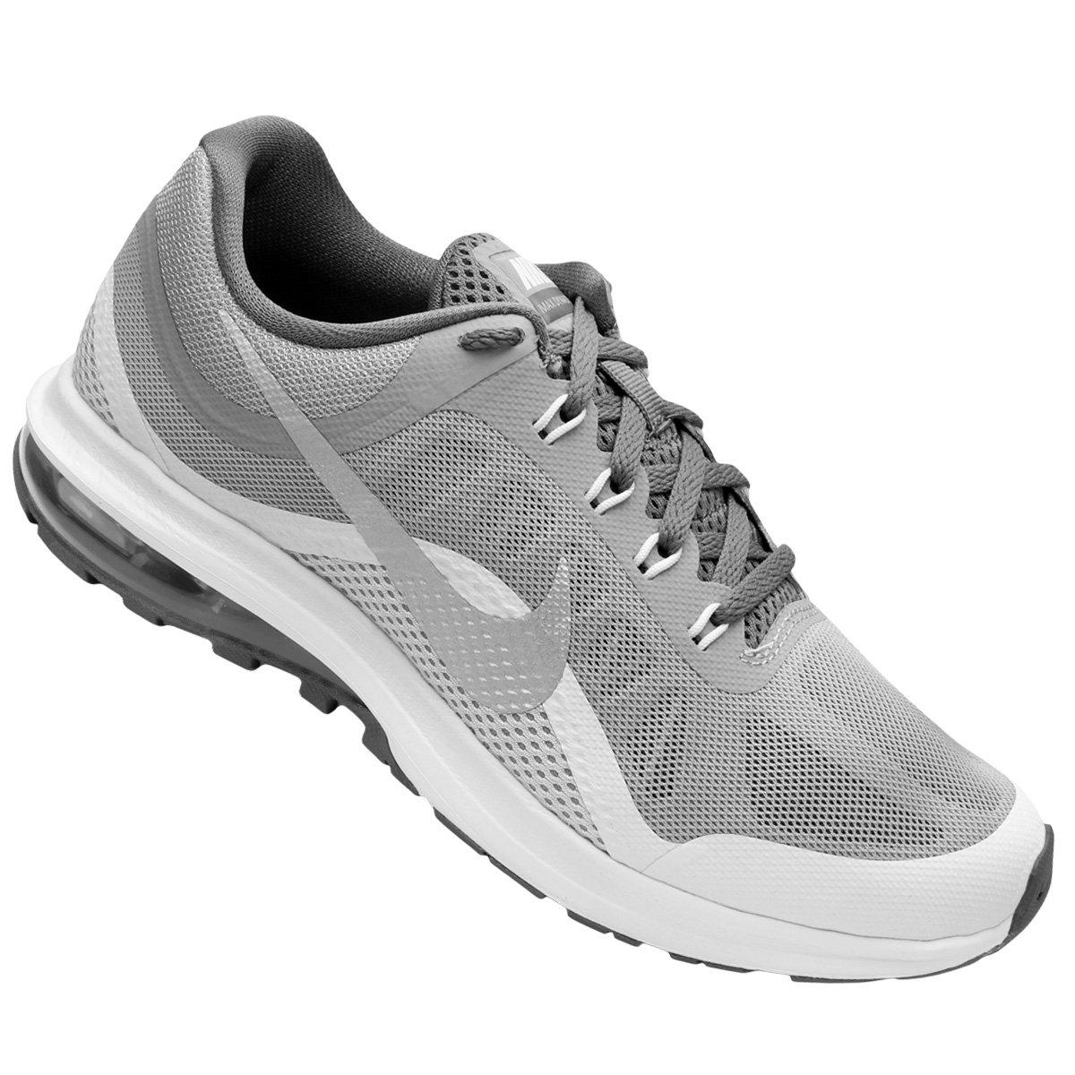 980259399dd Tênis Nike Air Max Dynasty 2 Feminino - Cinza e Branco - Compre Agora