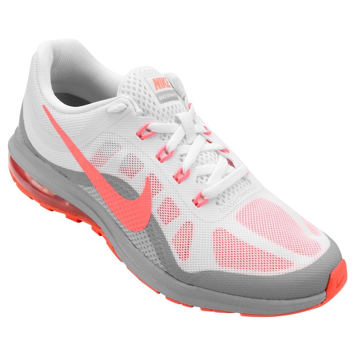 Tênis Nike Air Max Dynasty 2 Feminino - Branco e Salmão - Compre ... 40c09c94ea48e