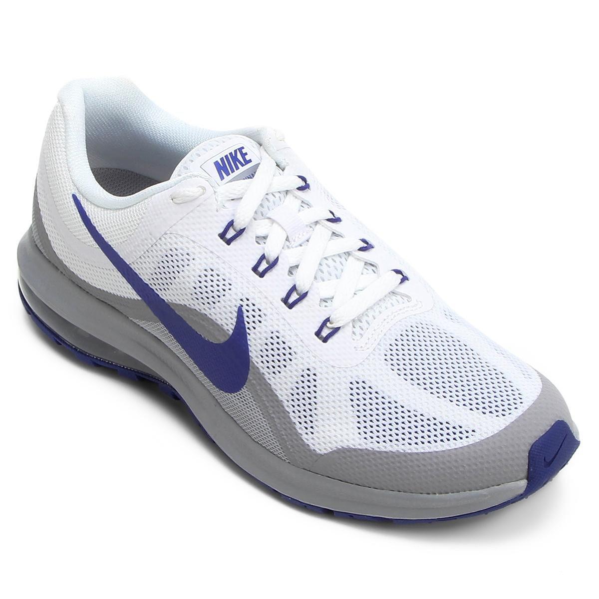 more photos e1175 6d9b7 Tênis Nike Air Max Dynasty 2 Masculino - Branco e Cinza - Compre Agora   Shop Timão