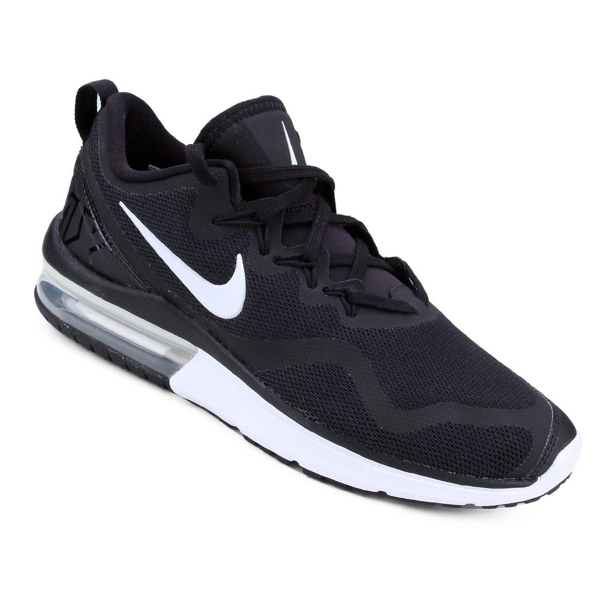 e1f3867740 Tênis Nike Air Max Fury Feminino - Preto e Branco - Compre Agora ...