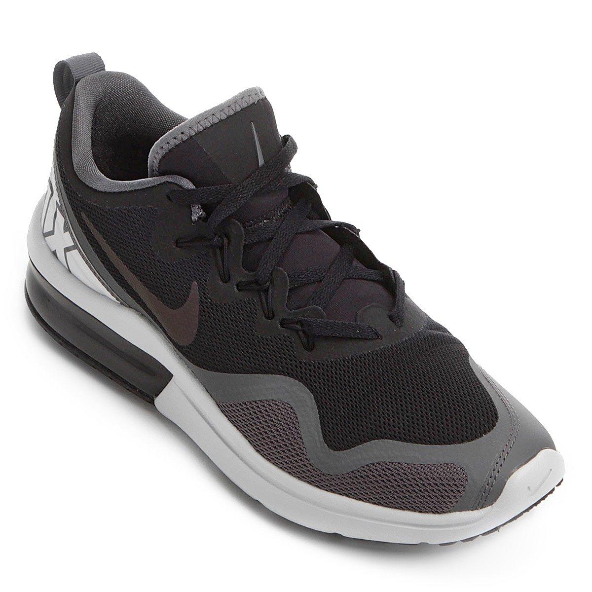 0f5983254 Tênis Nike Air Max Fury Feminino - Preto e Cinza - Compre Agora ...