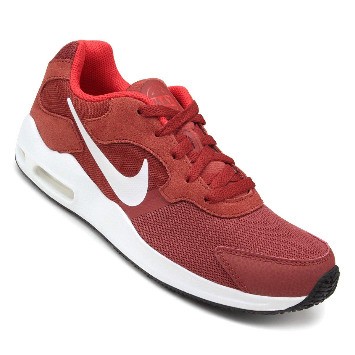 80bfbb67ab Tênis Nike Air Max Guile Masculino - Vermelho Escuro - Compre Agora ...