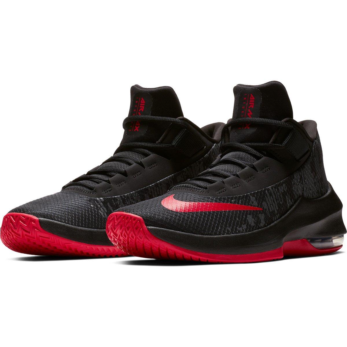 f794195a7c7 Tênis Nike Air Max Infuriate 2 Mid Masculino - Preto e Vermelho - Compre  Agora