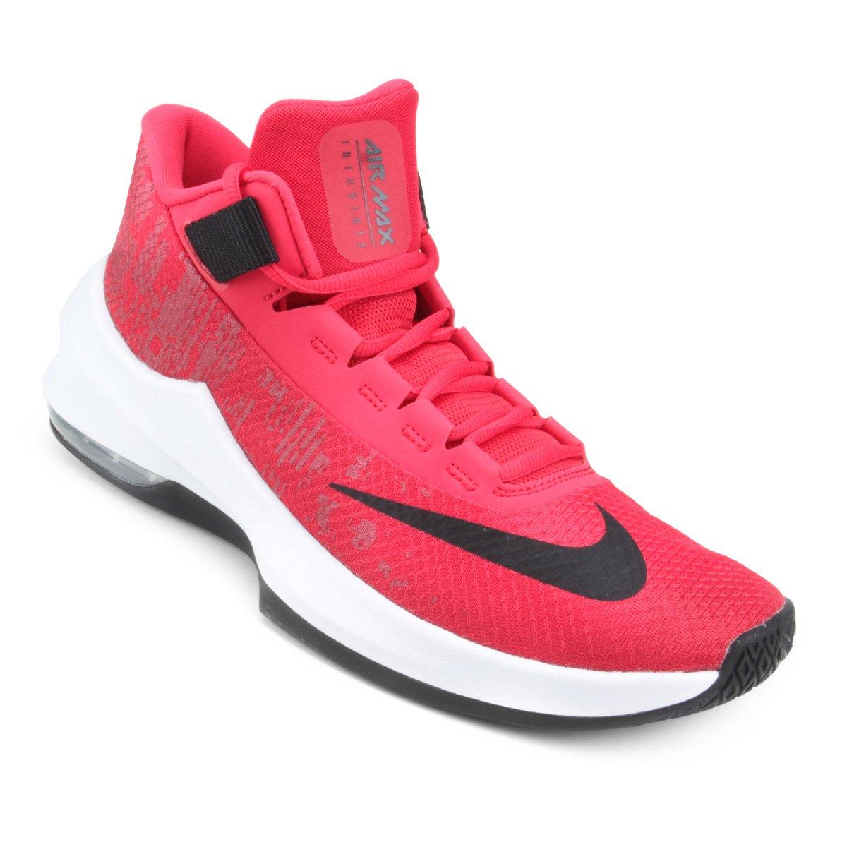 ea0ab515de8 Tênis Nike Air Max Infuriate 2 Mid Masculino - Vermelho e Preto - Compre  Agora