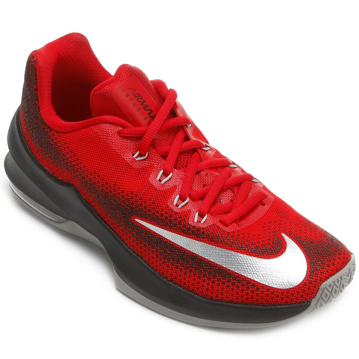 ace0471bef3d ... australia tênis nike air max infuriate low masculino vermelho e preto  29f4f 7bd4a