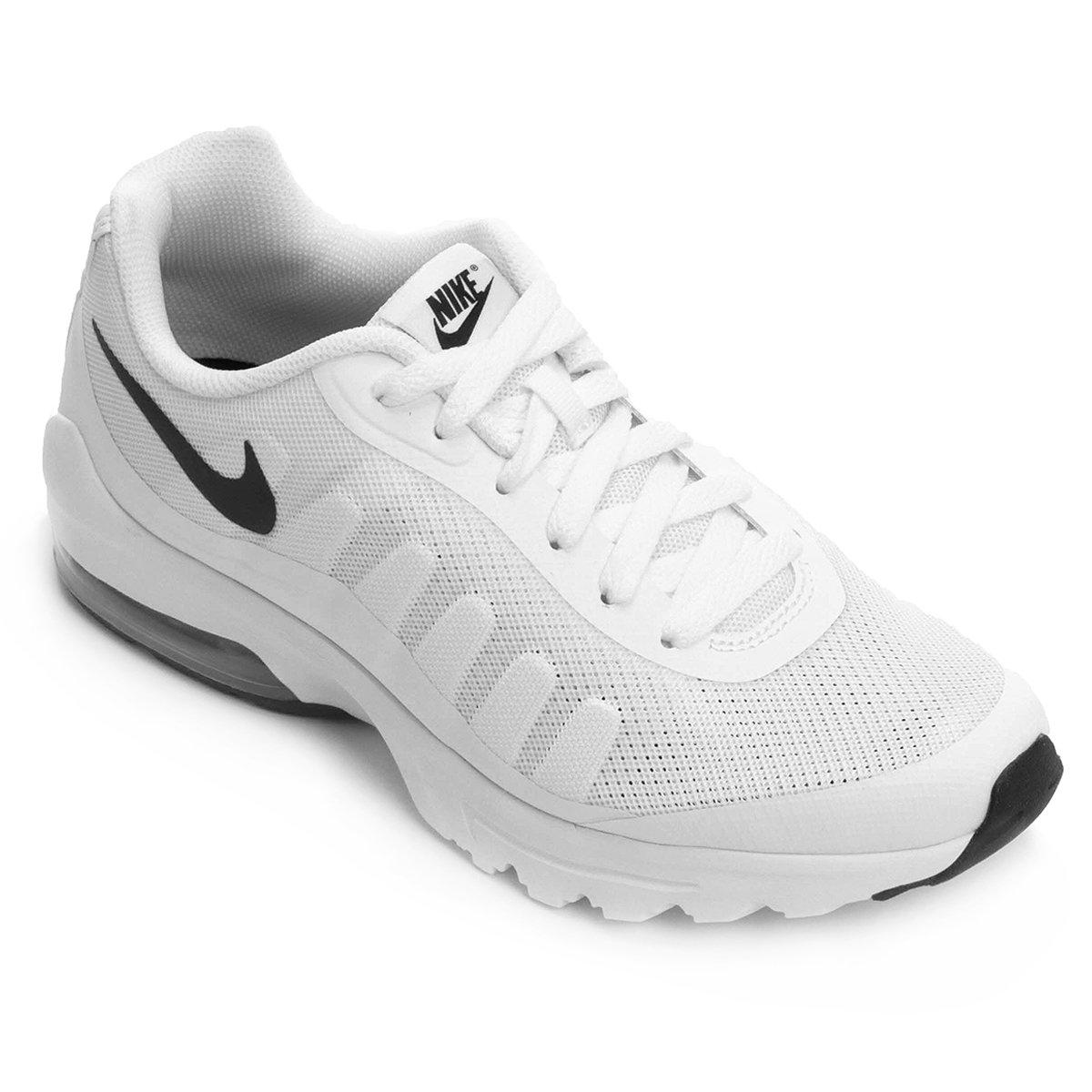 4163e631799 Tênis Nike Air Max Invigor Masculino - Branco e Preto - Compre Agora ...