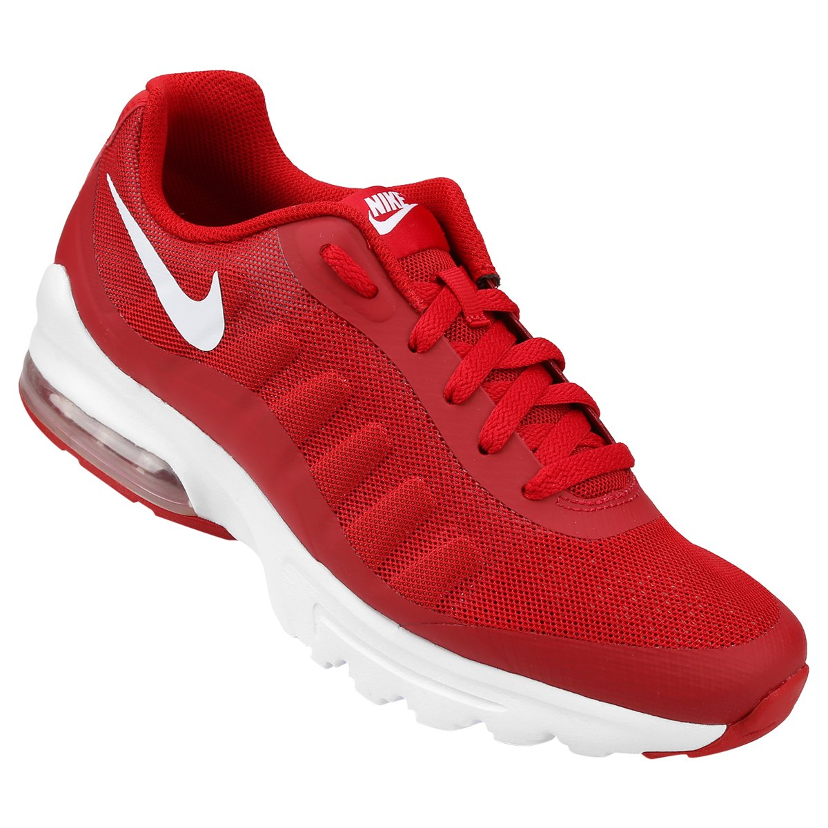 hot sale online 1dd00 ab322 Tênis Nike Air Max Invigor Masculino - Vermelho e Branco - Compre Agora   Shop Timão