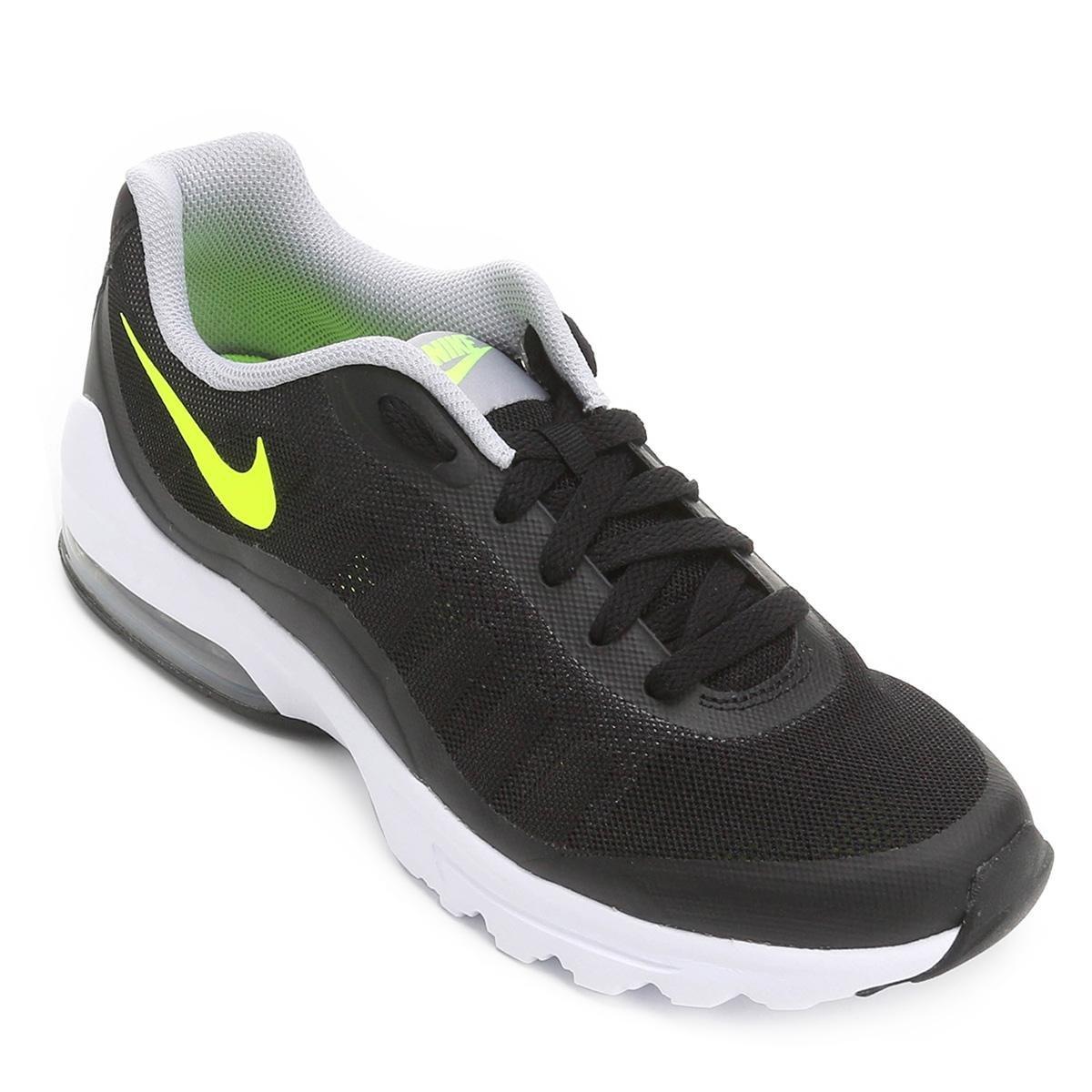 b94161b7a Tênis Nike Air Max Invigor Masculino - Preto e Cinza - Compre Agora ...