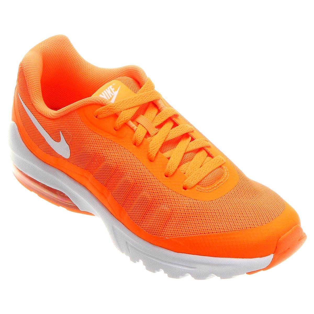super popular d8371 e7b70 Tênis Nike Air Max Invigor Masculino - Laranja e Branco - Compre Agora   Shop Timão