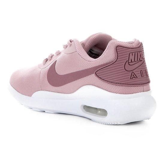 Tênis Nike Air Max Oketo Feminino Rosa E Branco Shop Timão