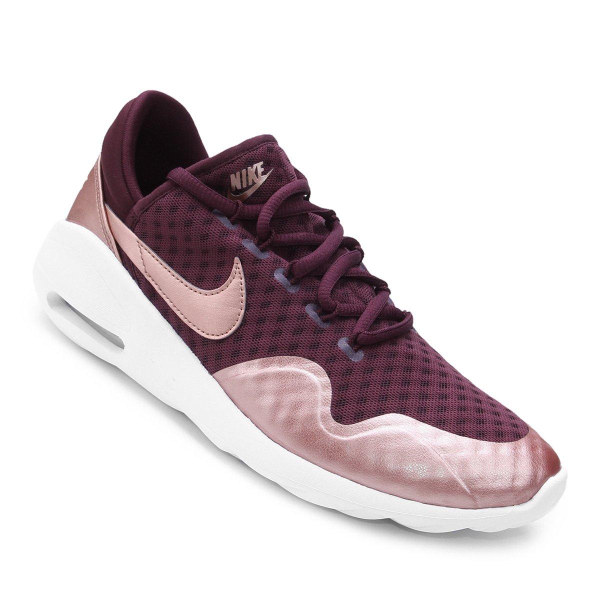 Tênis Nike Air Max Sasha Feminino - Vinho - Compre Agora   Shop Timão 1fde9e1594