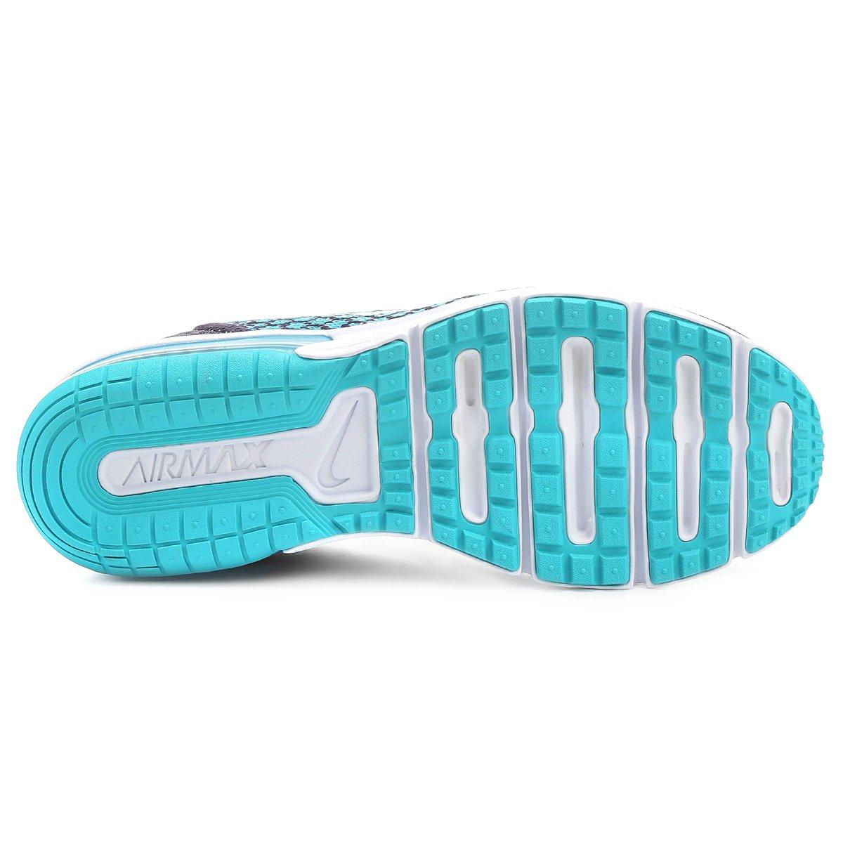Tênis Nike Air Max Sequent 2 Feminino - Roxo e Azul - Compre Agora ... aefec473ee759