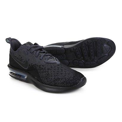 Tênis Nike Air Max Sequent 4 Feminino Preto | Shop Timão