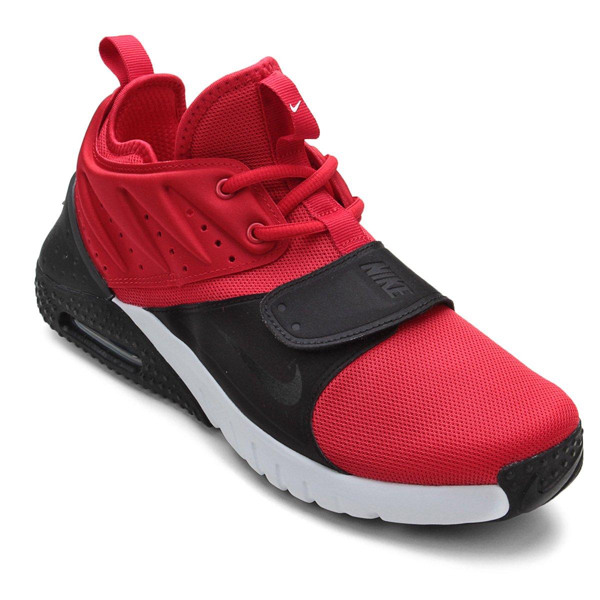 d3198cd851d Tênis Nike Air Max Trainer 1 Masculino - Vermelho e Branco - Compre Agora