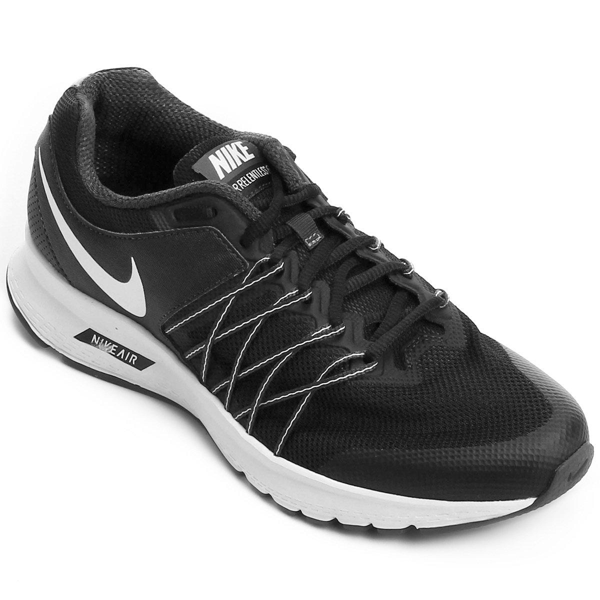 2818bedf5e0 Tênis Nike Air Relentless 6 MSL Feminino - Preto e Branco - Compre Agora