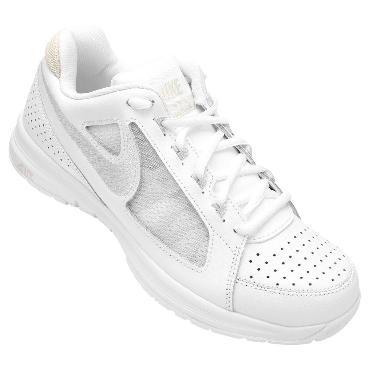 3113fb228d Tênis Nike Air Vapor Ace Feminino - Branco e Areia - Compre Agora ...