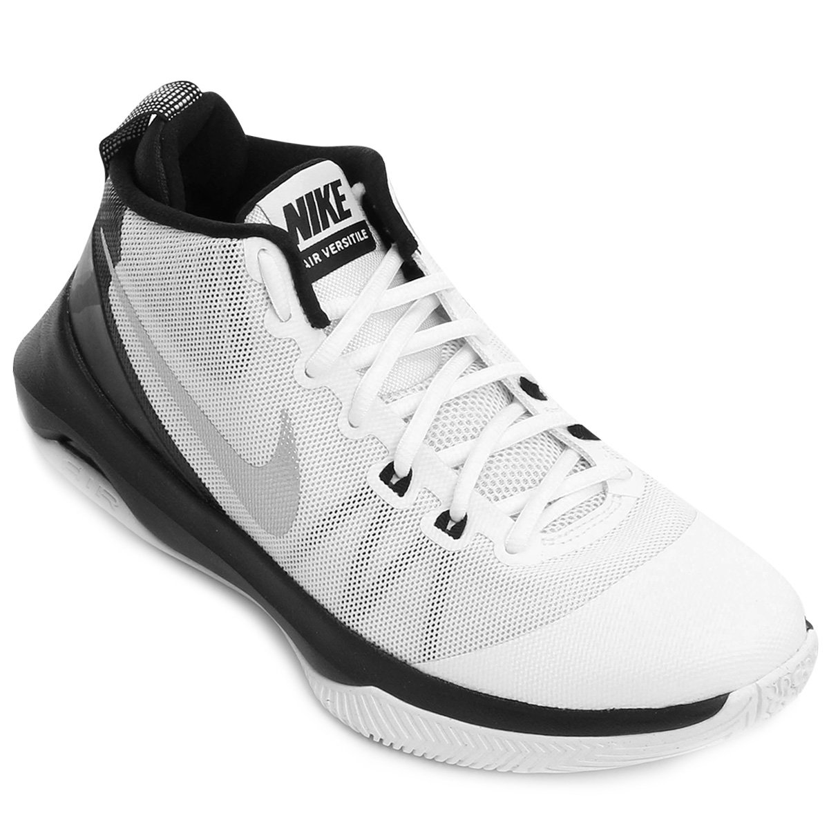 Tênis Nike Air Versitile Masculino - Branco e Preto - Compre Agora ... 552ca2dec04d3