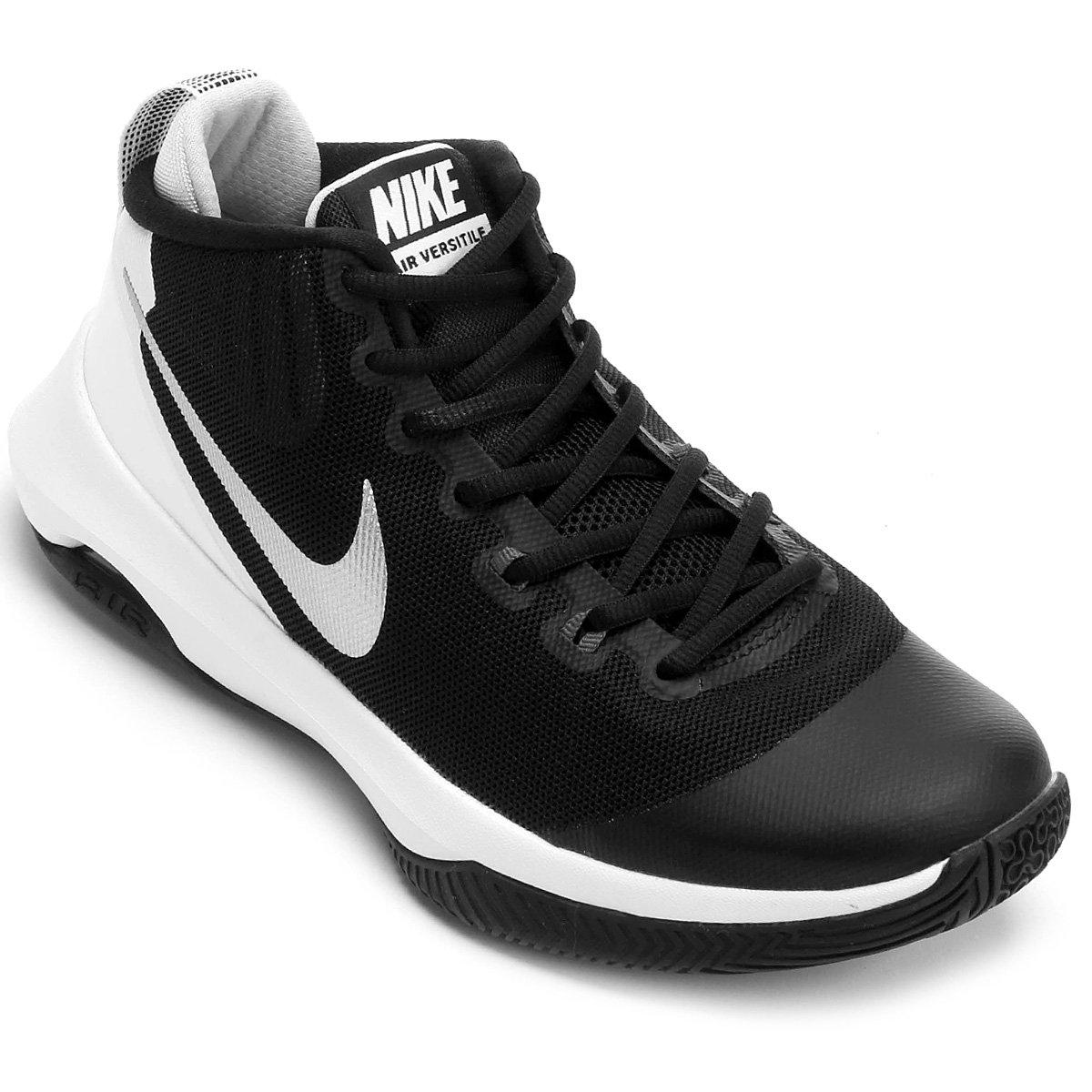 f2b4472ee9e8 Tênis Nike Air Versitile Masculino - Preto e Cinza - Compre Agora ...