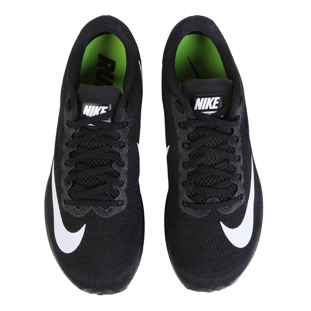 Tênis Nike Air Zoom Elite 10 Feminino Preto E Branco