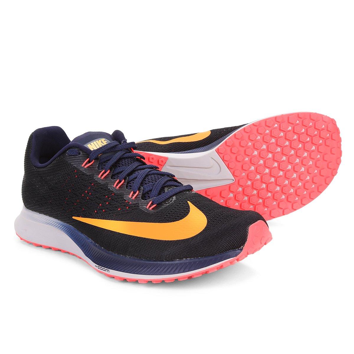 f88627e5d38 Tênis Nike Air Zoom Elite 10 Masculino - Preto e Azul - Compre Agora ...