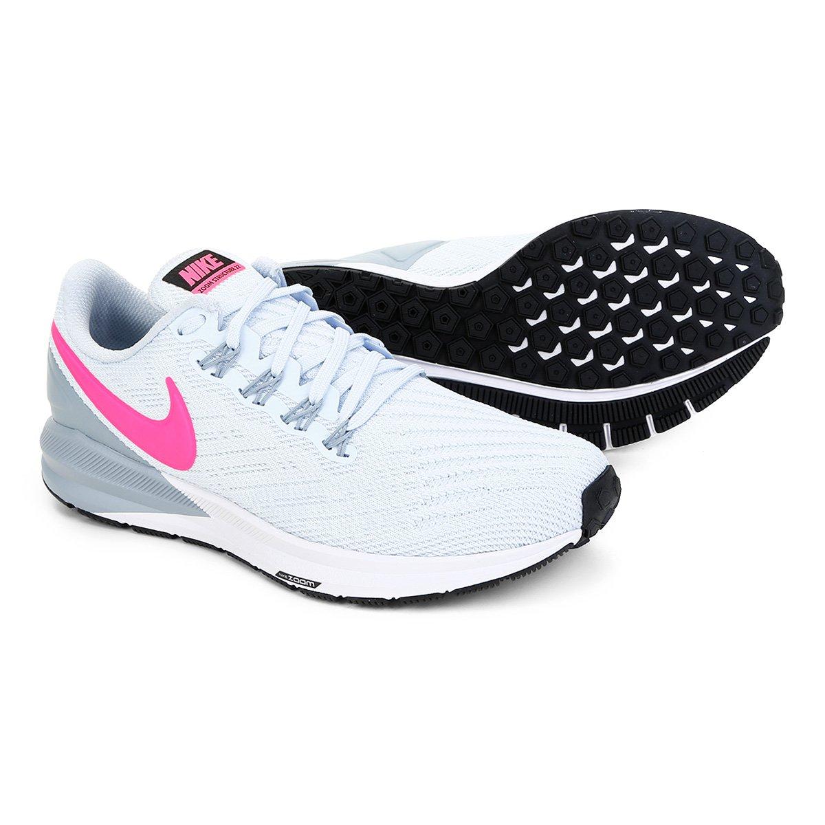 Tênis Nike Air Zoom Structure 22 Feminino Shop Timão