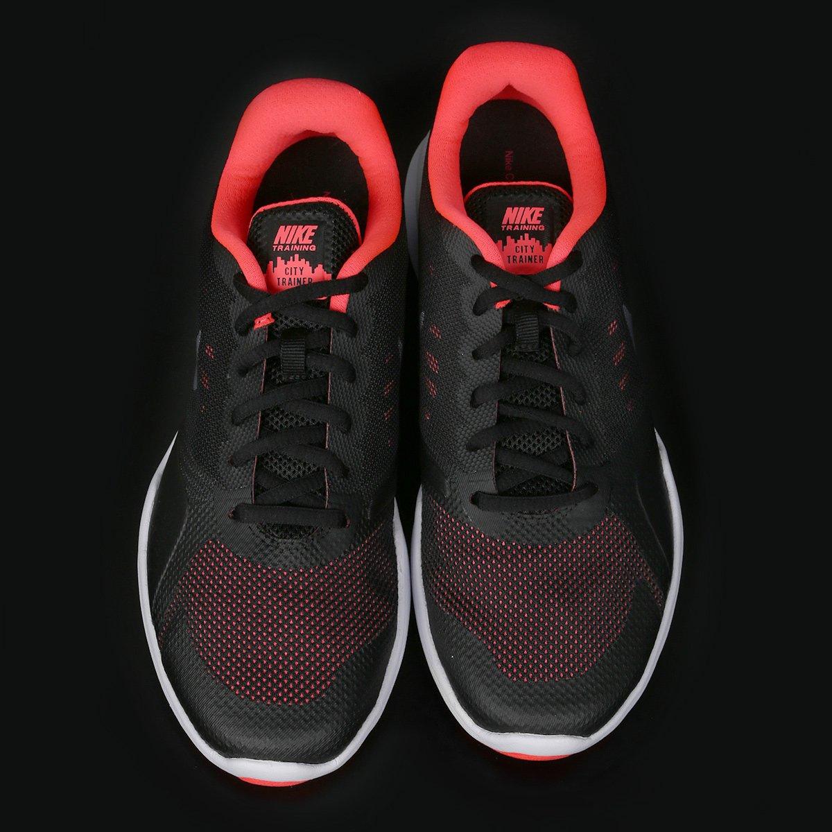 Tênis Nike City Trainer Feminino - Preto e Cinza - Compre Agora ... 351b121ce5de5