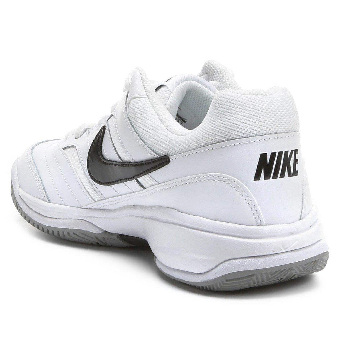 Tênis Nike Court Lite Masculino - Branco e Preto - Compre Agora ... 447baf9307c3a