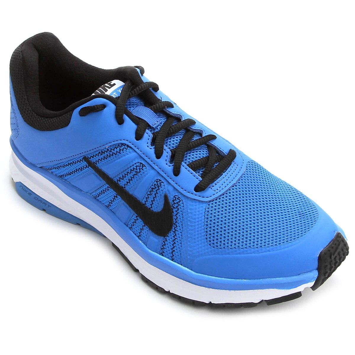 b460498d31c Tênis Nike Dart 12 MSL Masculino - Azul e Preto - Compre Agora ...