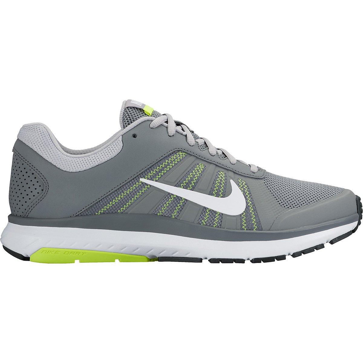 467a3b3c67e Tênis Nike Dart 12 MSL Masculino - Cinza e Branco - Compre Agora ...