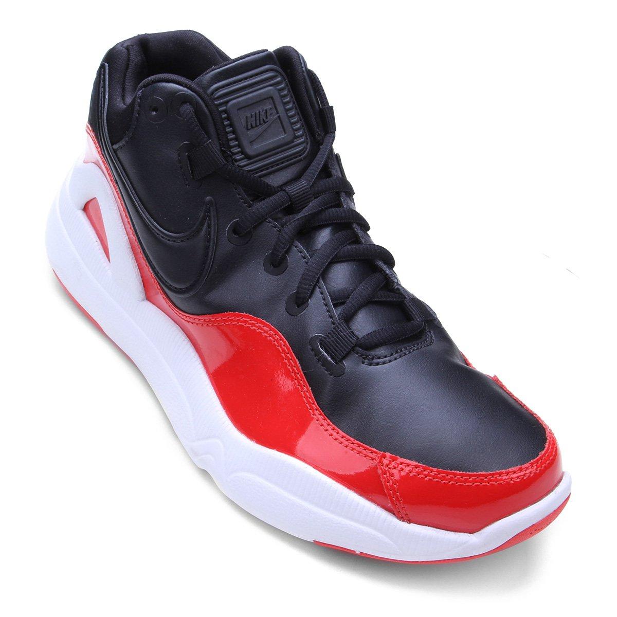 50d736ee3bc Tênis Nike Dilatta Premium Masculino - Preto e Vermelho - Compre Agora
