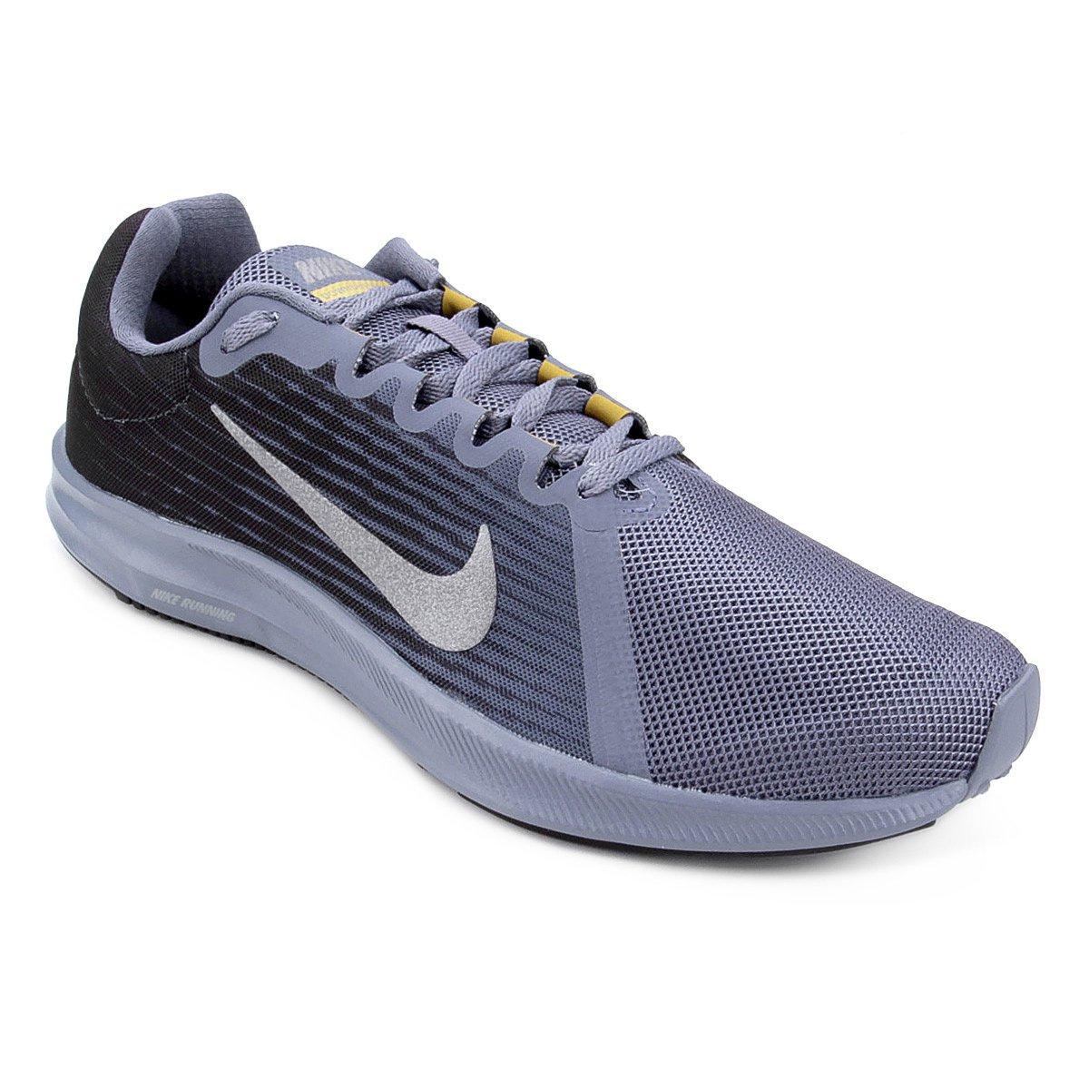 Tênis Nike Downshifter 8 Masculino - Preto e Cinza - Compre Agora ... 452129b6c4348