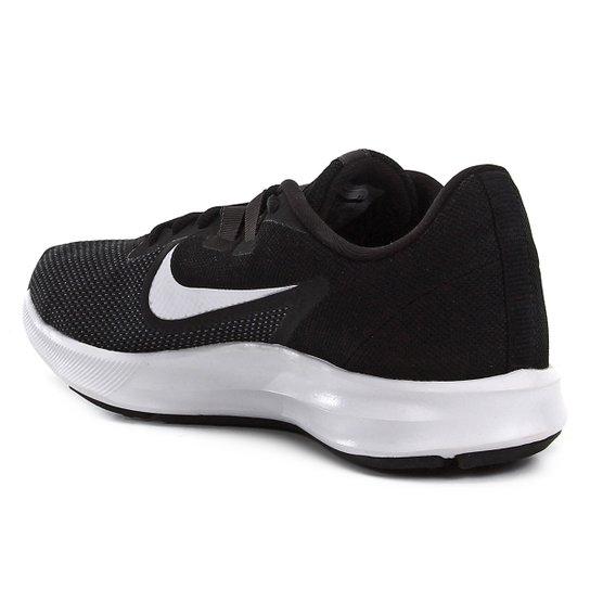 Tênis Nike Downshifter 9 Feminino Preto E Branco