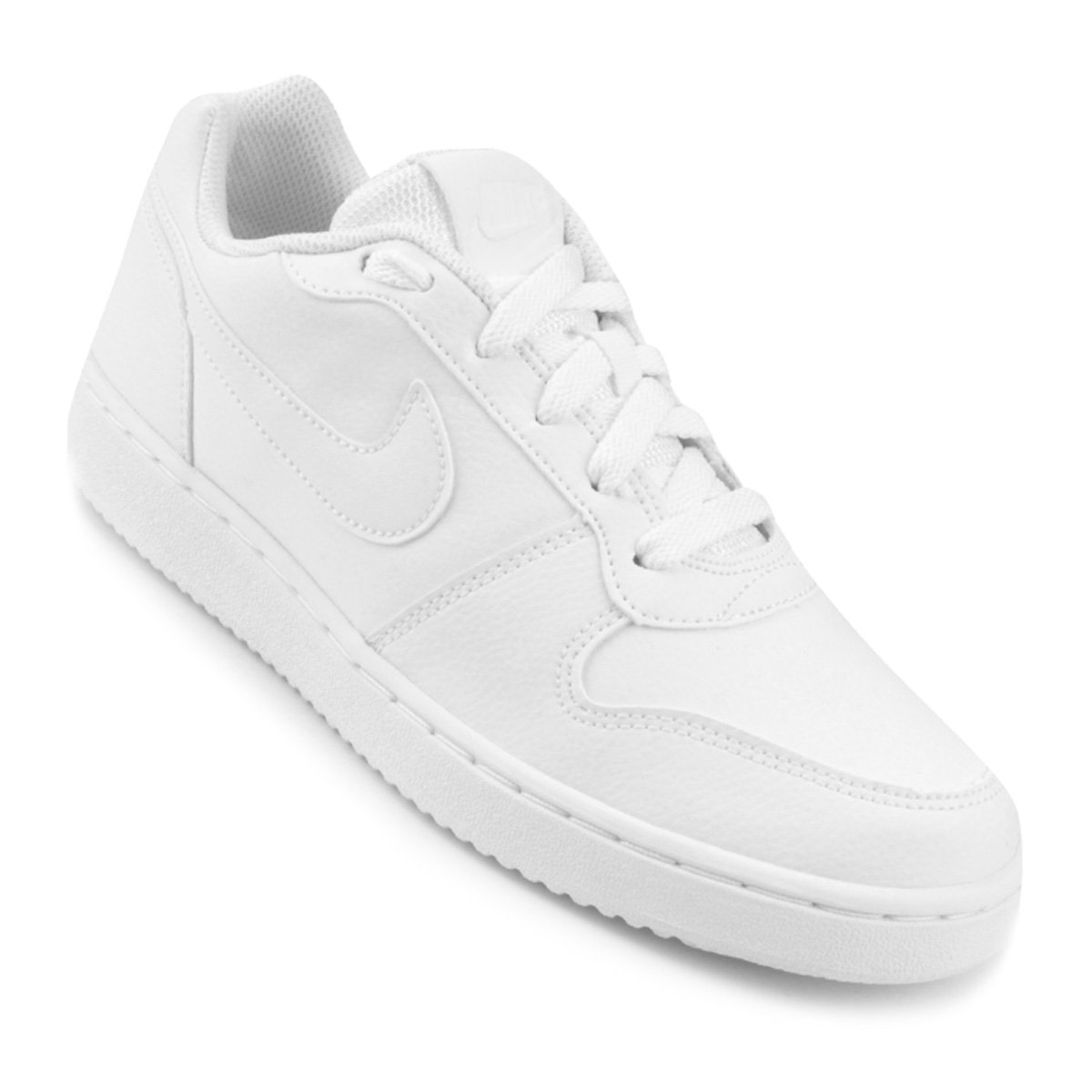 Tênis Nike Ebernon Low Feminino - Branco - Compre Agora  409f2046859a1