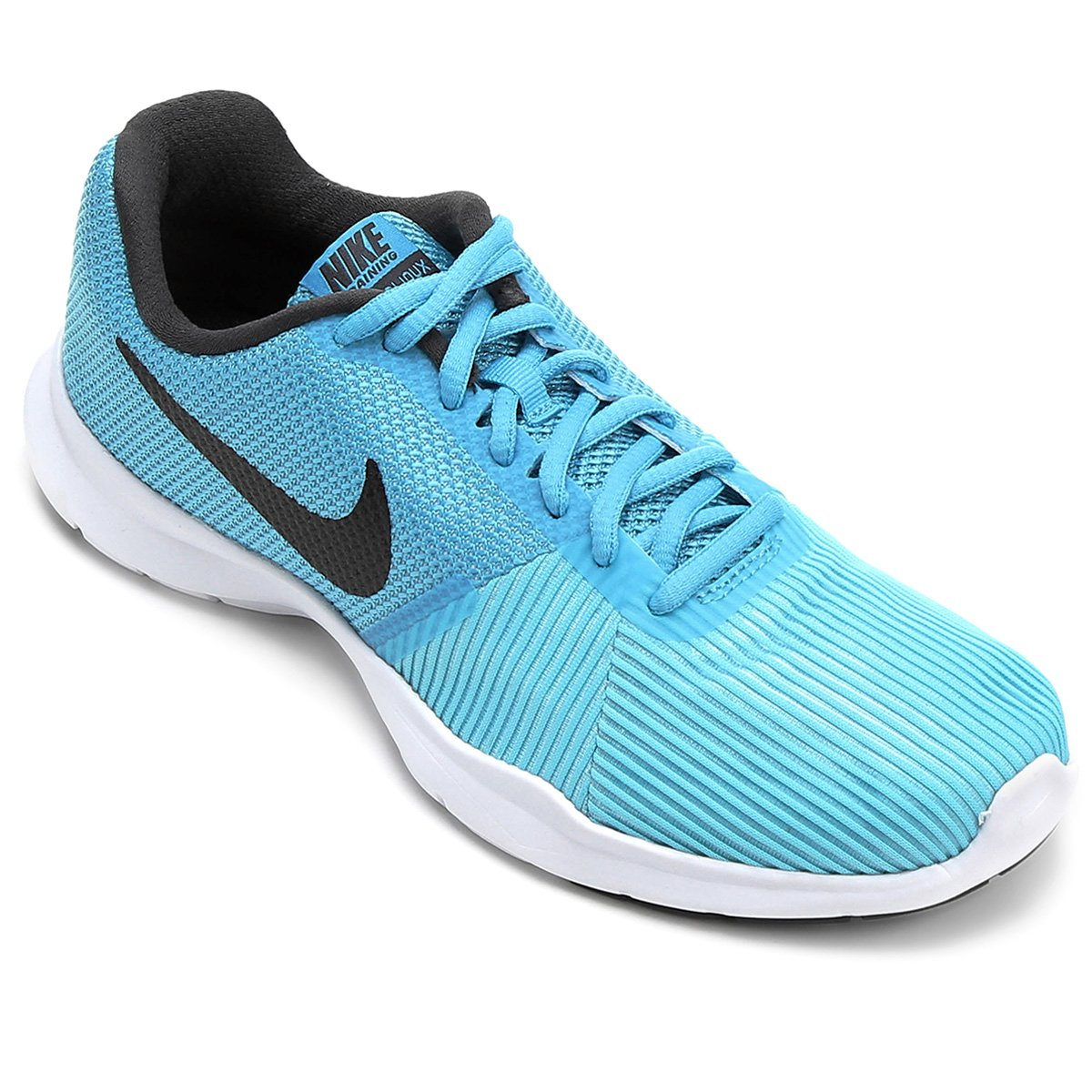 Tênis Nike Flex Bijoux Feminino - Azul e Preto - Compre Agora  83af6555e8ec8