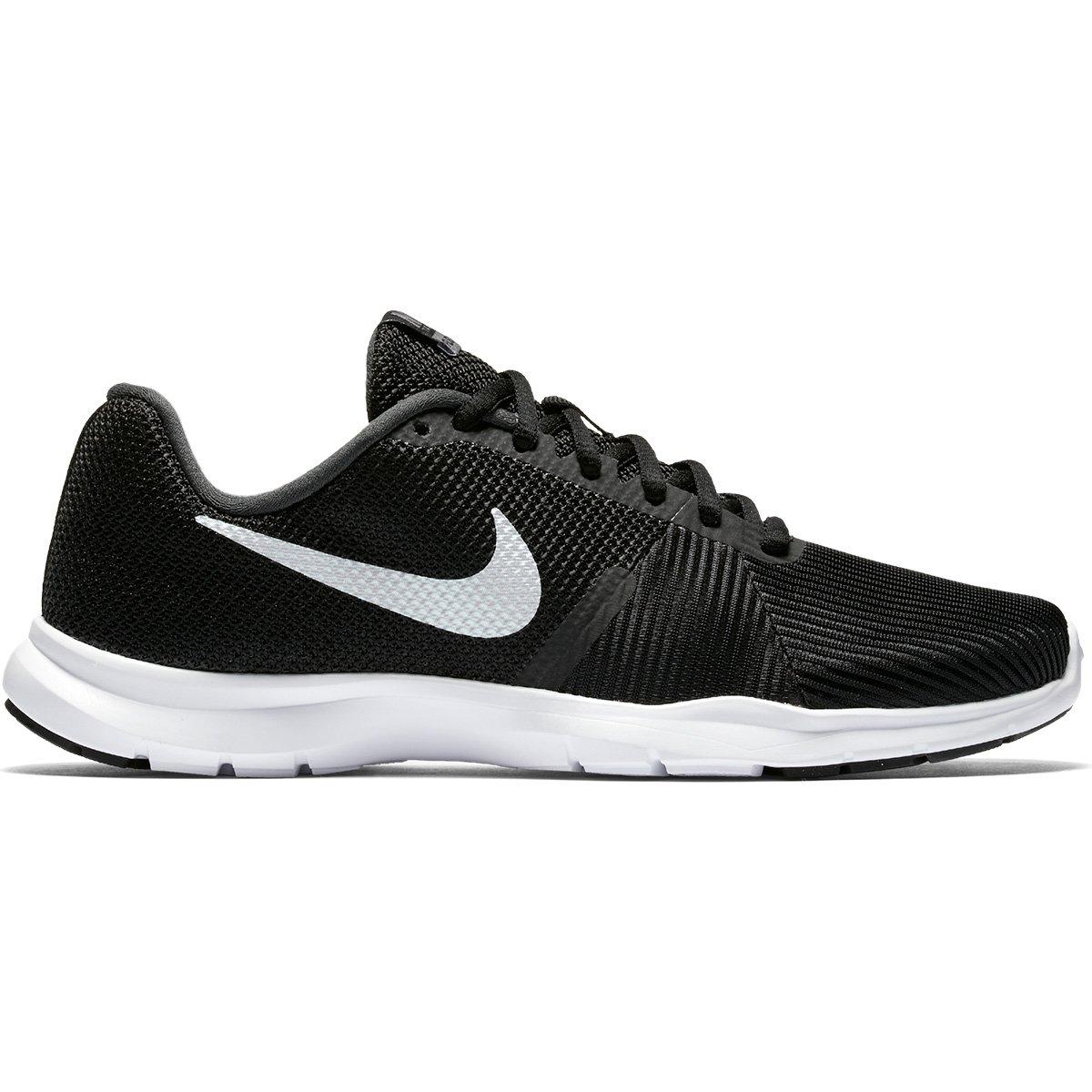 8ec1104cee Tênis Nike Flex Bijoux Feminino - Preto e Branco - Compre Agora ...
