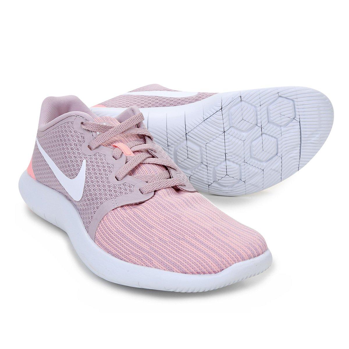 83167210d2 Tênis Nike Flex Contact 2 Feminino - Rosa - Compre Agora