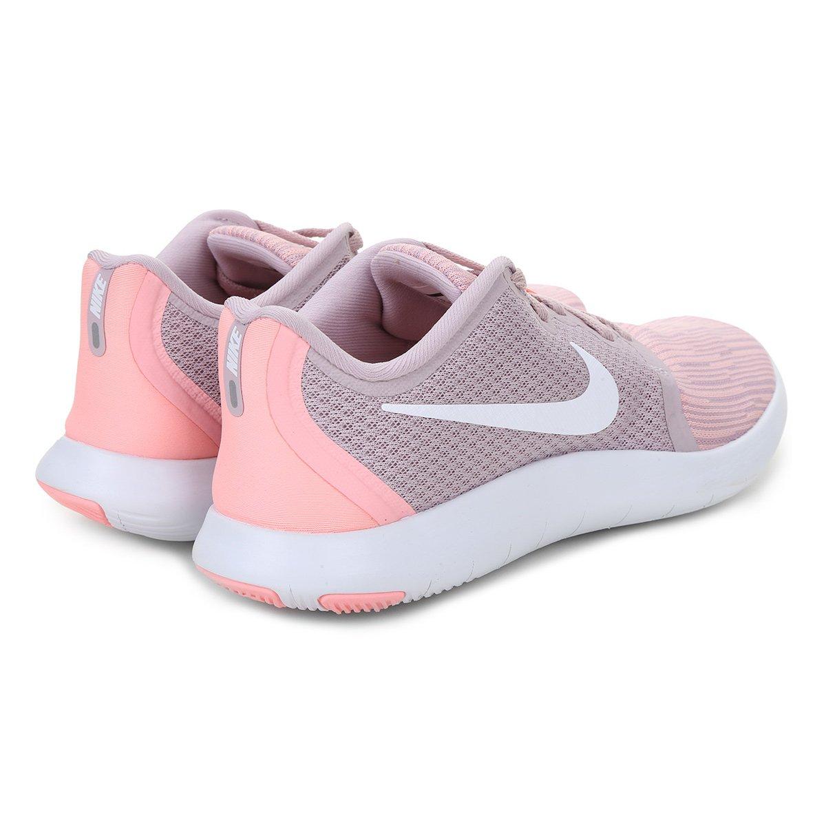 e8f57d22a4 Tênis Nike Flex Contact 2 Feminino - Rosa - Compre Agora