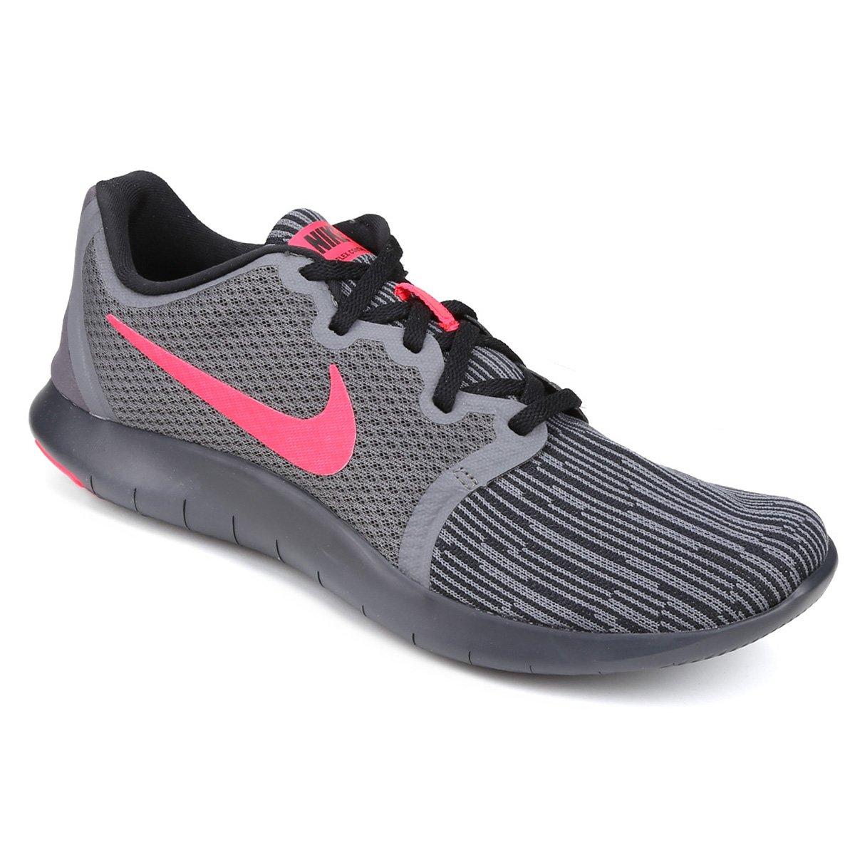 bb6cf195d1892 Tênis Nike Flex Contact 2 Masculino - Cinza e Rosa - Compre Agora ...