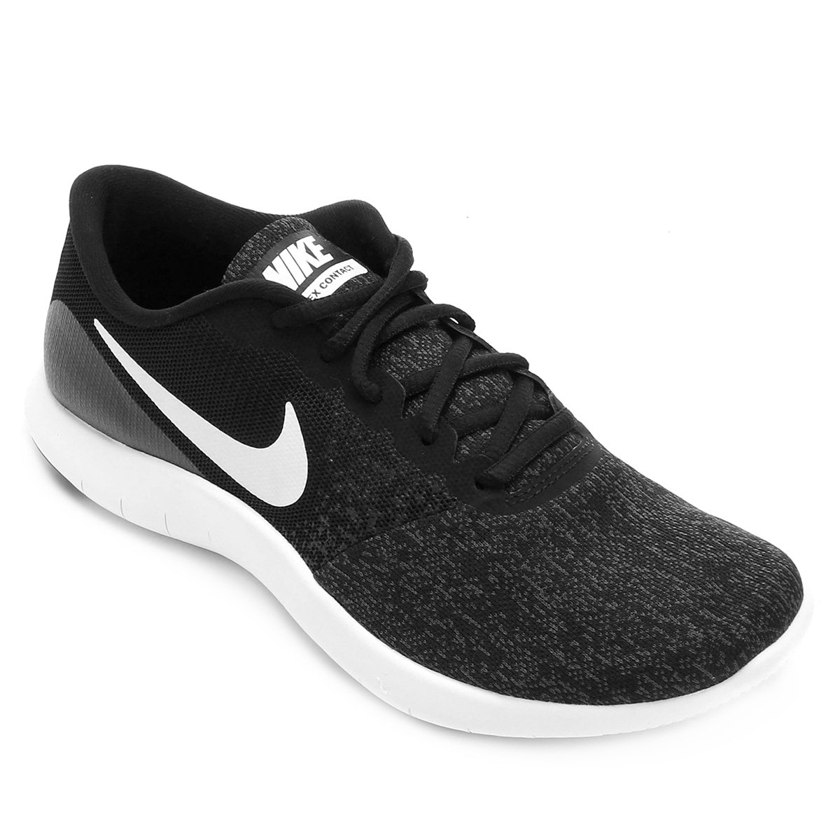 Tênis Nike Flex Contact Feminino - Preto e Grafite - Compre Agora ... 4adb096102dab