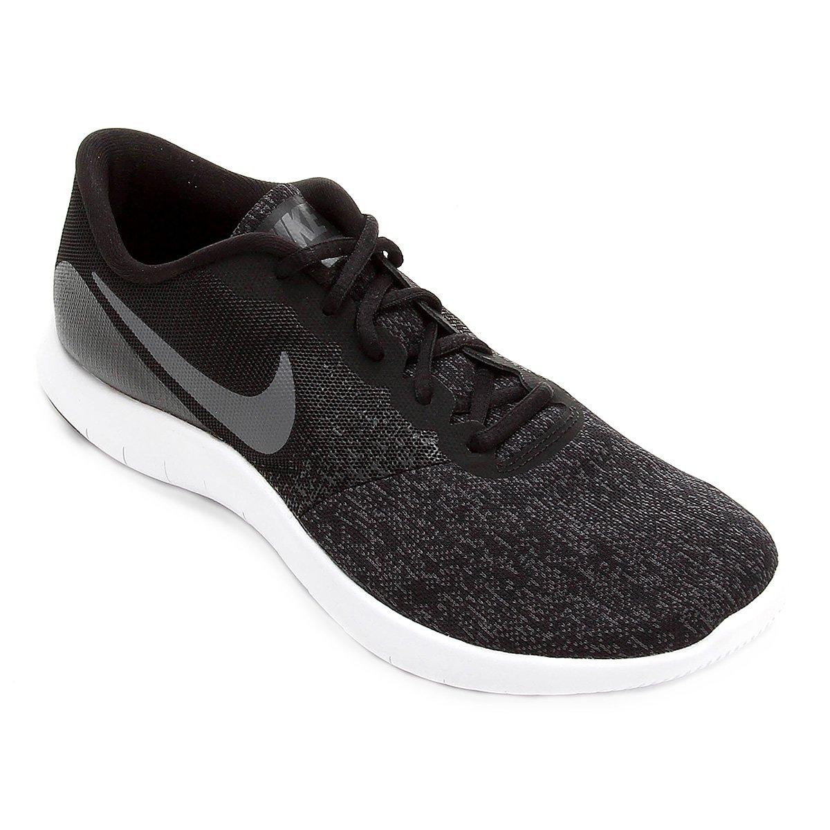 423bbc6ae22 Tênis Nike Flex Contact Masculino - Preto e Cinza - Compre Agora ...