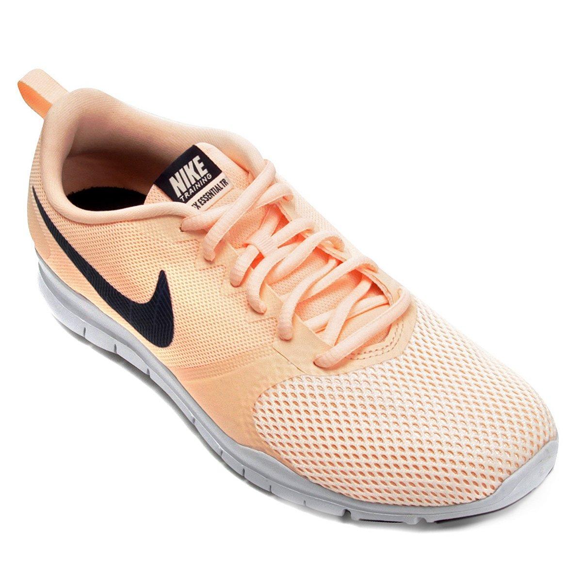 6a88314597 Tênis Nike Flex Essential TR Feminino - Salmão - Compre Agora
