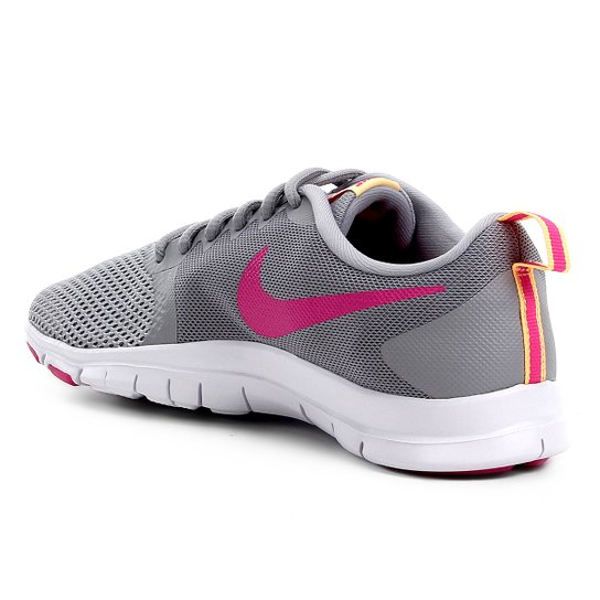 Tênis Nike Flex Essential Tr Feminino Cinza E Pink